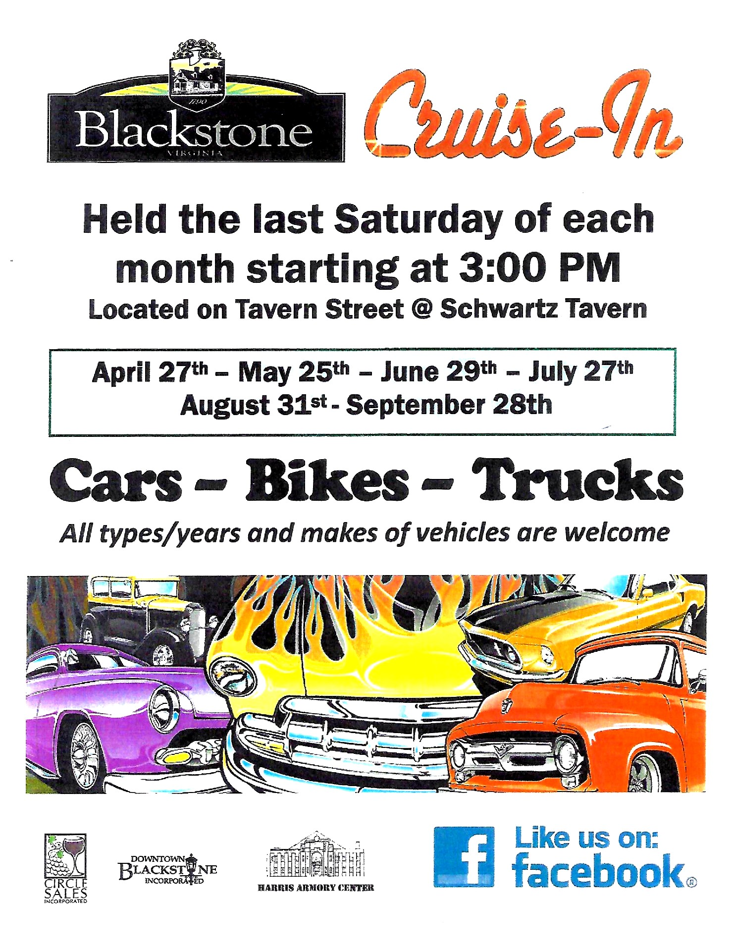 Blackstone Cruise-In is Back