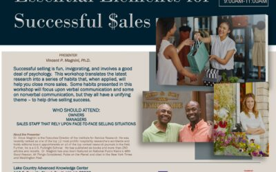 Essential Elements for Successful Sales